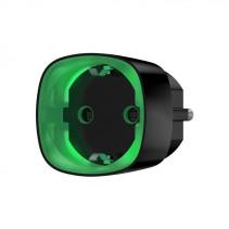 Умная розетка со счетчиком энергопотребления Ajax Socket черная, Jeweller, 230V, 11А, 2.5 кВт