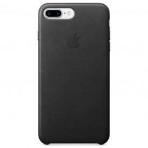 Чехол Apple iPhone 7 Plus Leather Case Black (MMYJ2)