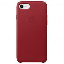 Чехол Apple iPhone 8 Leather Case Red (MQHA2)