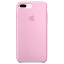 Чехол Apple iPhone 8 Plus Silicone Case Light Pink (Original copy)