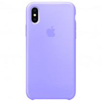 Чехол Apple iPhone XS Max Silicone Case Violet (Original copy)