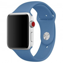 Ремешок Apple Watch 42mm Sport Band (S/M & M/L) Denim Blue