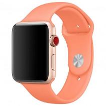 Ремешок Apple Watch 38mm Sport Band (S/M & M/L) Peach