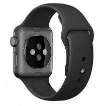 Ремешок Apple Watch 38mm Sport Band Steel Pin Black With Space Gray (MJ4G2)