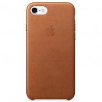 Чехол Apple iPhone 7 Leather Case Saddle Brown (MMY22)