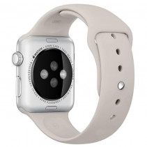 Ремешок Apple Watch 42mm Sport Band (S/M & M/L) Stone