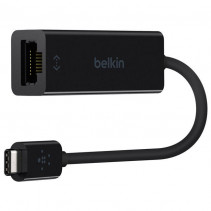 Адаптер Belkin USB-C to Gigabit Ethernet Adapter (F2CU040btBLK)