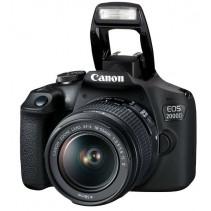Фотоаппарат Canon EOS 2000D[+ объектив 18-55 IS II + сумка SB130 + карта памяти SD16GB]