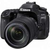 Фотоаппарат Canon EOS 80D [+ объектив 18-135 IS nano USM]