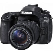Фотоаппарат Canon EOS 80D + объектив 18-55 IS STM