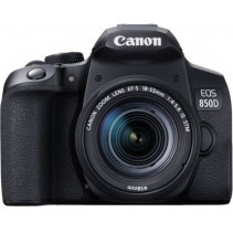 Фотоаппарат Canon EOS 850D kit 18-55 IS STM Black (3925C016)