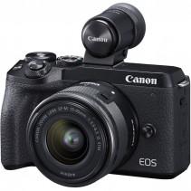 Фотоаппарат Canon EOS M6 Mark II Body Black