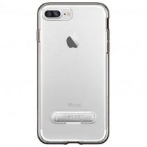 Чехол-накладка Spigen Case Crystal Hybrid Gun Metal for iPhone 7 Plus (SGP-043CS20508)