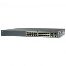 Коммутатор Cisco Catalyst 2960 Plus 24 10/100 (8 PoE) + 2 T/SFP LAN Base