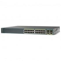Коммутатор Cisco Catalyst 2960 Plus 24 10/100 PoE + 2 T/SFP LAN Base