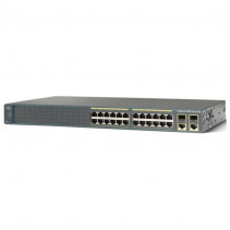Коммутатор Cisco Catalyst 2960 Plus 24 10/100 PoE + 2 T/SFP LAN Lite