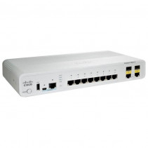 Коммутатор Cisco Catalyst 2960C Switch 8 GE, 2 x Dual Uplink, LAN Base