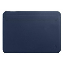 "Чехол-конверт Wiwu Skin Pro 2 Leather Sleeve for MacBook Pro 16"" (Navy Blue)"