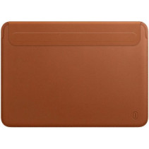 "Чехол-конверт Wiwu Skin Pro 2 Leather Sleeve for MacBook Pro 16"" (Brown)"
