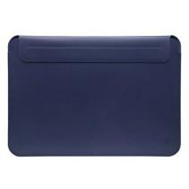 "Чехол-конверт Wiwu Skin Pro 2 Leather Sleeve for MacBook Air 13"" (Navy Blue)"