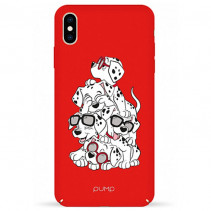 Чехол Pump Tender Touch Case for iPhone XS Max Dalmatians
