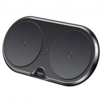 Беспроводное ЗУ Baseus Dual Wireless Charger (WXXHJ-A01) на два устройства (Black)
