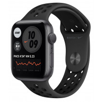 Apple Watch Nike Series 6 GPS 44mm Space Gray Aluminum Case w. Anthracite/Black Nike Sport Band (MG173)