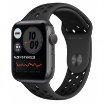 Apple Watch Nike Series 6 GPS 40mm Space Gray Aluminum Case w. Anthracite/Black Nike Sport Band (M00X3)