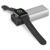Портативный аккумулятор Belkin для Apple Watch и iPhone 6700mAh Black/Silver (F8J201btSLV)
