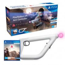 Контроллер движений Sony PlayStation VR Aim Controller + Farpoint (RUS) PS4 VR
