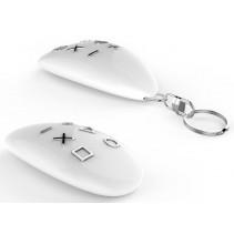 Умный пульт управления Fibaro KeyFob, Z-Wave, 3V CR2450, IP54, белый