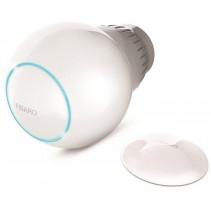Умная термоголовка Fibaro Heat Controller + внешний датчик темп., Z-Wave, Bluetooth, Li-Ion, белая
