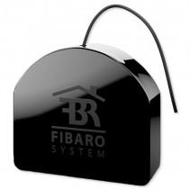 Умное реле Fibaro Double Switch 2, Z-Wave, 230V, макс. 10А (6.5А на канал), 1.5кВт, черный