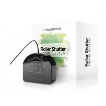 Умное реле Fibaro Roller Shutter 3, Z-Wave, 230V, макс. 4.2A (лампы), 1.7А (моторы), 400Вт, черный