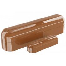 Умный датчик открытия двери / окна Fibaro Door / Window Sensor 2, Z-Wave, 3V ER14250, коричневый