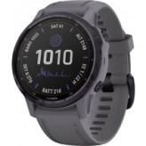 Смарт-часы Garmin Fenix 6S Pro Solar Edition Amethyst Steel with Shale Gray Band (010-02409-15)