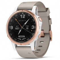 Смарт-часы Garmin D2 Delta S With White/Rose Gold Band 42 mm (010-01987-30)