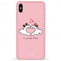 Чехол Pump Tender Touch Case for iPhone XS Max Love Hands