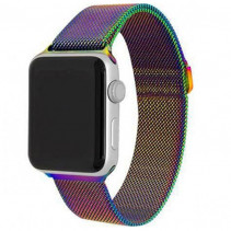 Ремешок Apple Watch Milanese Loop (42mm/44mm) Rainbow