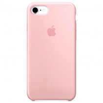 Чехол Apple iPhone 8 Silicone Case Light Pink (Original copy)