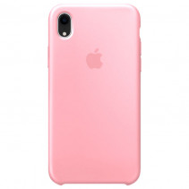 Чехол Apple iPhone XR Silicone Case Light Pink (Original copy)