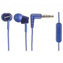 Наушники SONY MDR-EX150AP Blue (MDREX150APLI.E)