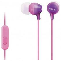 Наушники SONY MDR-EX15AP Violet (MDREX15APV.CE7)