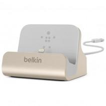 Док-станция Belkin Charge+Sync MIXIT iPhone 6s/SE Dock, Gold (F8J045btGLD)