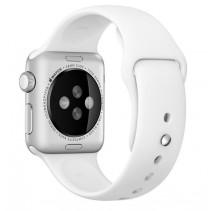 Ремешок Apple Watch 38mm Sport Band White (MJ4E2)