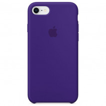 Чехол Apple iPhone 8 Silicone Case Purple (Original copy)