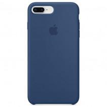 Чехол Apple iPhone 8 Plus Silicone Case Blue Cobalt (Original copy)