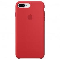 Чехол Apple iPhone 8 Plus Silicone Case Red (Original copy)