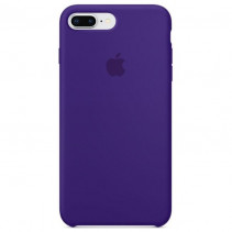 Чехол Apple iPhone 8 Plus Silicone Case Ultra Violet (Original copy)
