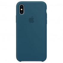 Чехол Apple iPhone X Silicone Case Cosmos Blue (Original copy)